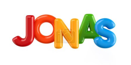 isolated colorfull 3d Kid Name