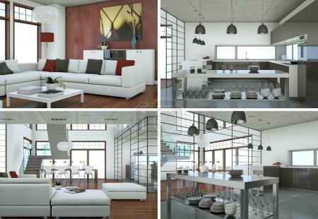 Четыре вида современного дизайна лофта