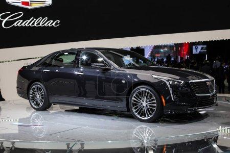 Cadillac CT 6 shown at