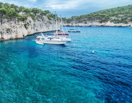 Port-Miou calanque in Cassis. France. 31.07.2017