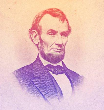 Abraham Lincoln 18091865 engraved illustration