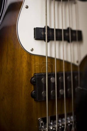 Photo for Close up detail of the electric guitar - Royalty Free Image