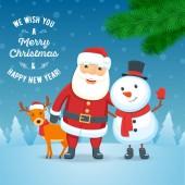 Cristmas holiday greeting card 01