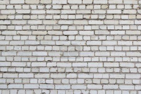 Photo pour Mur de petites briques grises, fond clair vide - image libre de droit