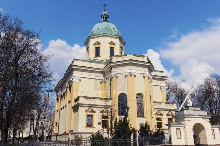 St. Stanislaus Garrison Church in Radom. Radom, Mazovia, Poland.