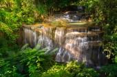 Waterfall in Thailand, called Huay or Huai mae khamin in