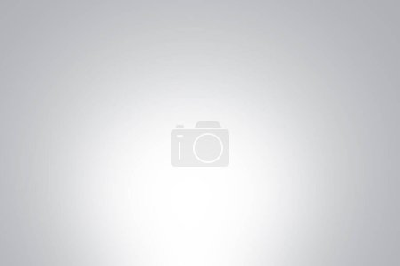 Photo for Abstract gray gradient wall background in empty room with bright white light blank studio for modern template banner graphic creative art design, illustration clean backdrop texture wallpape - Royalty Free Image