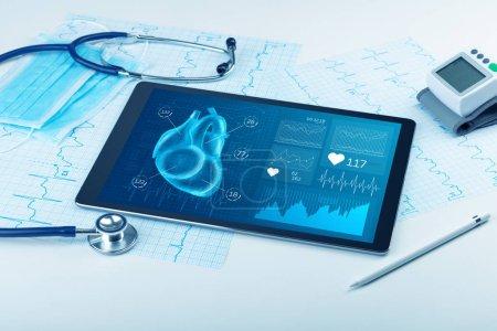 Foto de Cerca del concepto moderno de diagnóstico médico - Imagen libre de derechos