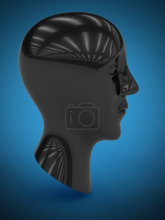 Photo for The symbol. 3D Illustration. - Royalty Free Image