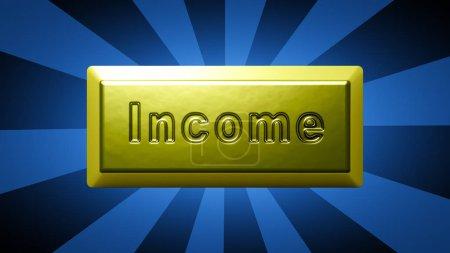 Photo pour Lingots d'or en arrière-plan abstrait . - image libre de droit