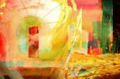 """Постер, картина, фотообои """"Ницца изображения больших масштабах оригинальные абстрактные картины маслом"""""""
