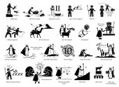 Story of Moses and Exodus Bible Christian story of Moses Egypt God Pharaoh punishment Hebrew slave passover and 10 commandments