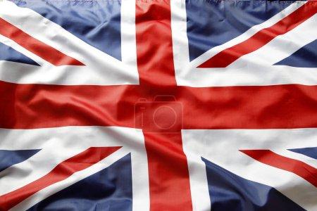 Photo pour Clôture du drapeau de l'Union Jack - image libre de droit