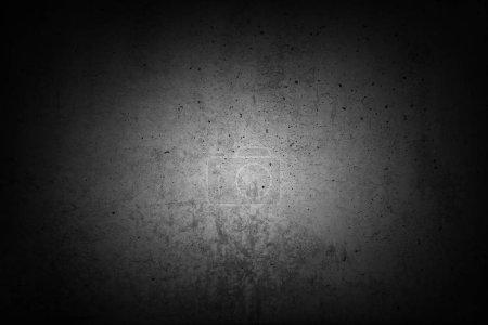 Grey concrete wall. Dark edges