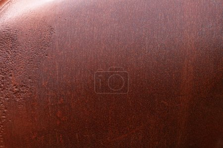 Photo for Rusty corroded steel texture background - Royalty Free Image