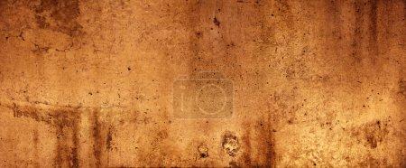 Photo pour Couleur orange texturé fond mural - image libre de droit