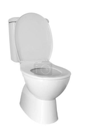 Toilet isolated on plain background