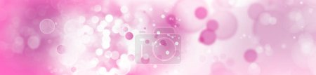 Circles pink tone background