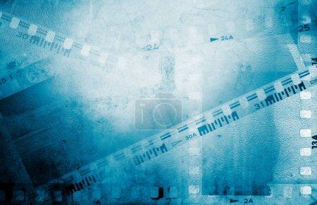 Photo pour Film caméra négatifs cadres de film arrière-plan - image libre de droit