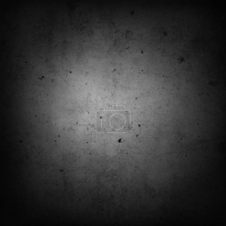 Photo for Grey concrete wall. Dark edges - Royalty Free Image