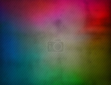Colorful grungy striped blurred background