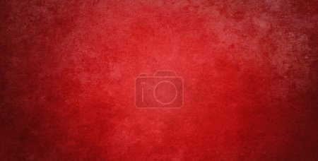 Red textured background. Dark edges
