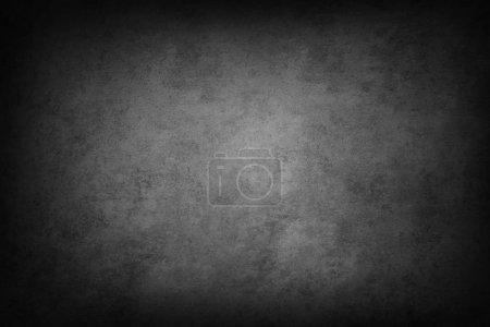 Grey textured background. Dark edges