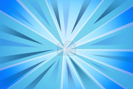 Photo pour Rayures bleues fond doublé - image libre de droit