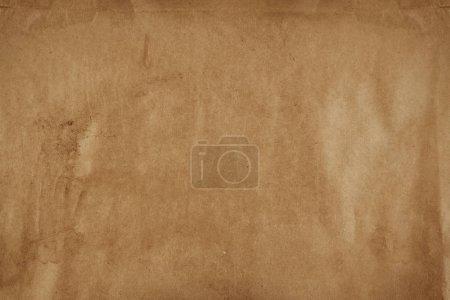 Photo pour Gros plan de texture de papier brun - image libre de droit