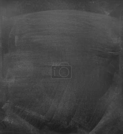 Photo for Chalk rubbed out on blackboard or chalkboard background - Royalty Free Image