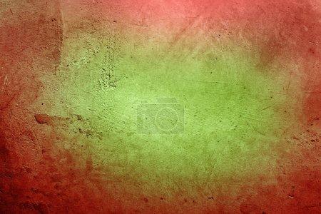 Photo pour Fond texturé rouge et vert - image libre de droit