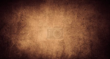 Photo for Brown color textured grunge background - Royalty Free Image