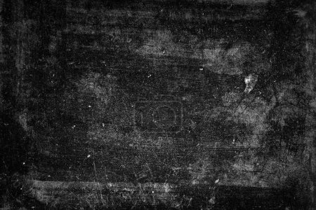 Photo for Close-up of dark grunge textured background - Royalty Free Image