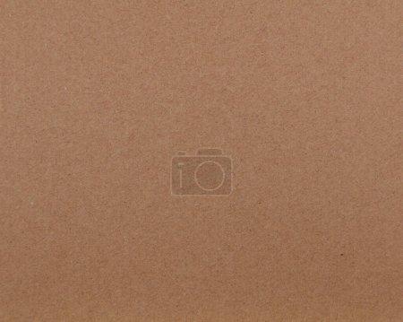 Photo pour Gros plan de fond de texture de papier brun - image libre de droit