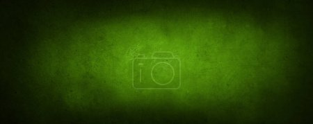 Photo for Closeup of green textured wall. Dark edge - Royalty Free Image
