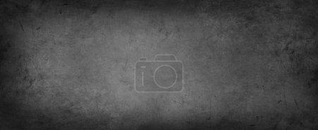 Foto de Primer plano de hormigón texturizado gris. Borde oscuro - Imagen libre de derechos