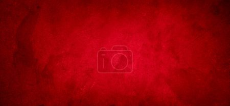 Photo for Red textured concrete wall background - Royalty Free Image