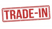 Trade-in sign or stamp