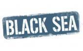 Black sea sign or stamp