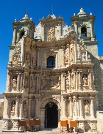Basilica of Our Lady of Solitude in Oaxaca de Juarez. Mexico