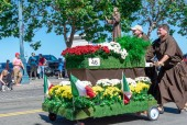 San Francisco, California - October 7, 2018: 150th Italian Heritage Parade in San Francisco, USA