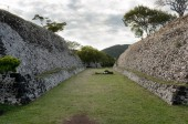 Pre-Columbian archaeological site of Xochicalco in Mexico