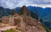 Machu Picchu in Peru, UNESCO World Heritage Site