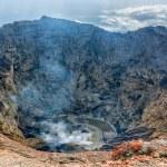 Volcano Kerinci. Crater lake. Kerinci Seblat Natio...
