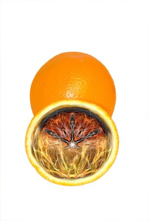 Foto de Arte naranja pulpa creativa - Imagen libre de derechos