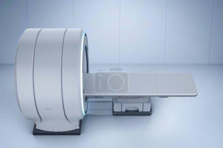 Photo pour Machine de balayage par IRM de rendu 3d ou écart de balayage d'imagerie par résonance magnétique - image libre de droit