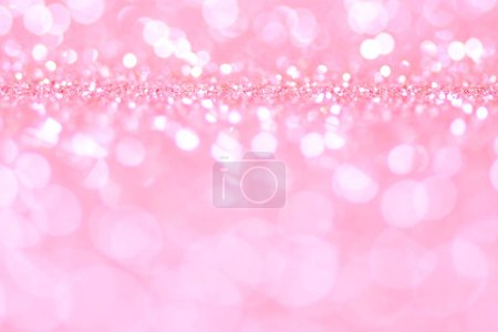 Photo pour Abstrait fond rose avec des lumières floues - image libre de droit