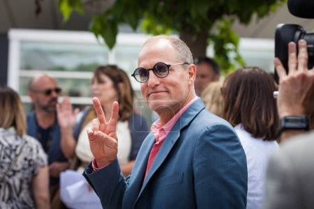 CANNES, FRANCE - MAY 15, 2018: Woody Harrelson attends 'Solo: A Star Wars Story' Photocall during the 71st annual Cannes Film Festival at Palais des Festivals
