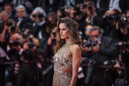 Photo for CANNES, FRANCE - MAY 16,  2018: : Izabel Goulart attends the screening of 'Burning' during the 71st annual Cannes Film Festival at Palais des Festivals - Royalty Free Image