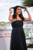 CANNES, FRANCE - MAY 15, 2019: Nadine Labaki attends the photocall for the Un Certain Regard Jury during the 72nd annual Cannes Film Festival